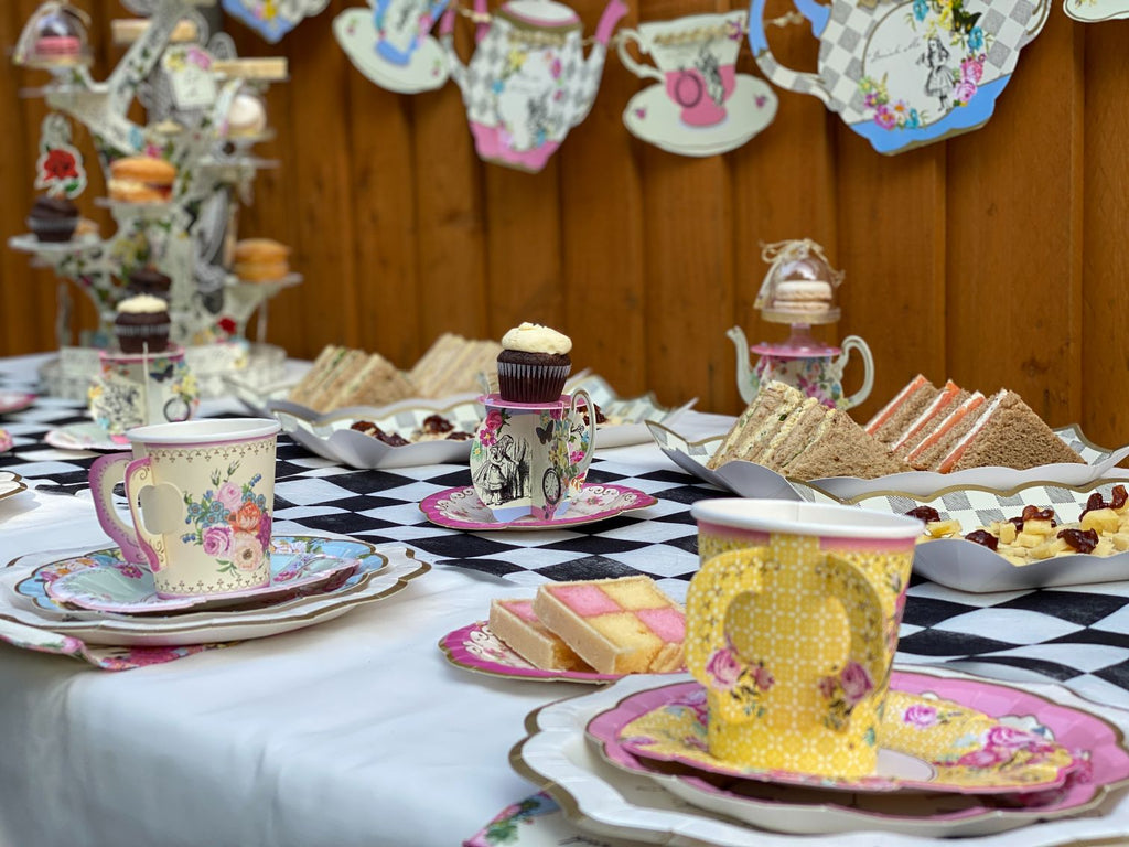 Truly Alice Teapot Cake Stands
