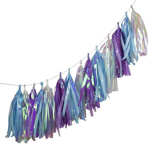 Talking Tables Decadent Decs Iridescent Tassels