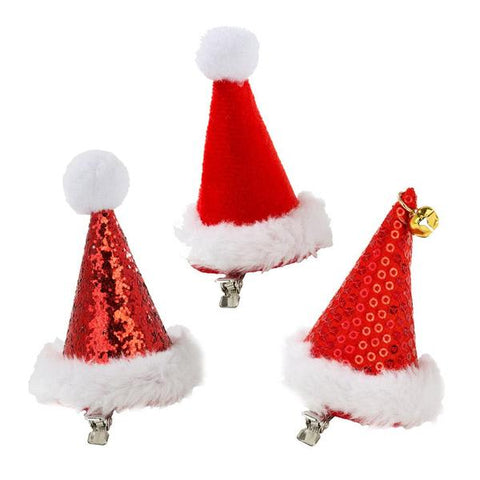 Christmas Entertainment Santa Hats POS