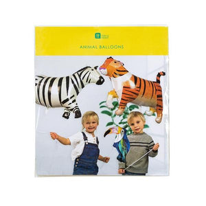 Talking Tables Foil Animal Ballons