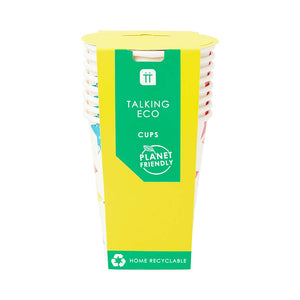 Recyclable Colourful Star Paper Cups (Pack of 8) - Talking Tables