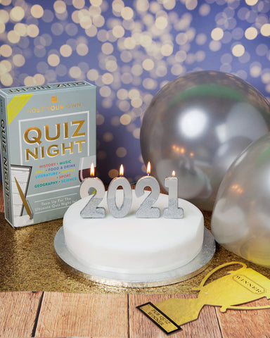 We Heart Birthdays Silver Number Candles Starter Pack