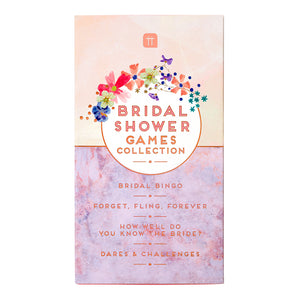 Blossom Girls Bridal Shower Games Collection
