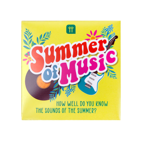 Summer of Music Trivia Game - Talking Tables