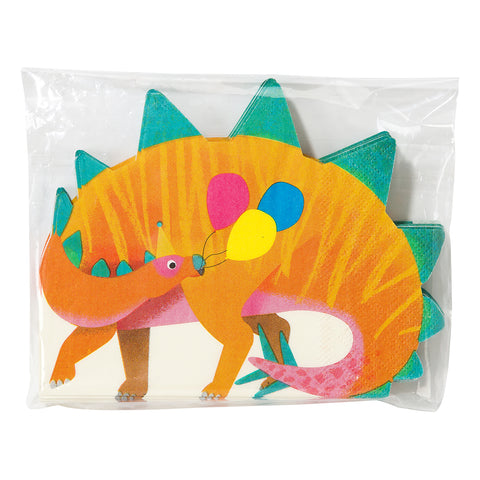 Party Dinosaur Shaped Napkins