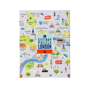 Talking Tables Map Puzzle London