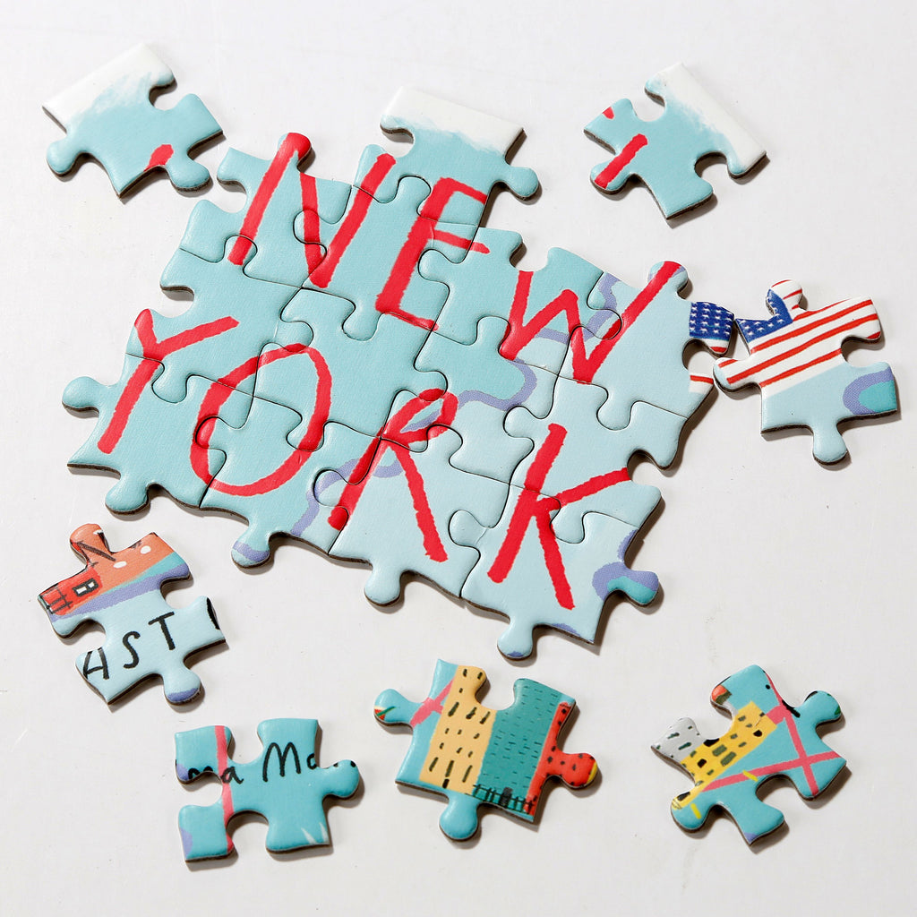 Map Puzzle New York 250 Pieces