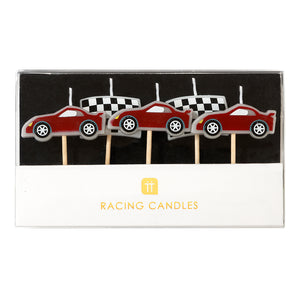 Party Racer Candles