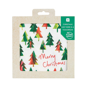 Christmas Like There Is A Tomorrow Tree Napkin, 33Cm, 21P