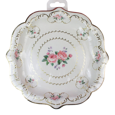 Truly Chintz Medium Paper Plates