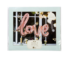 Talking Tables Truly Romantic Rose Gold Love Balloon