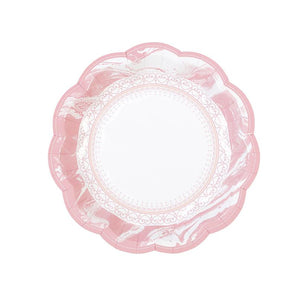 Talking Tables Party Porcelain Rose Small Plates