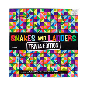Talking Tables table fun aw16 snakes ladders trivia game