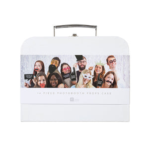 Talking Tables we heart white photo booth props kit