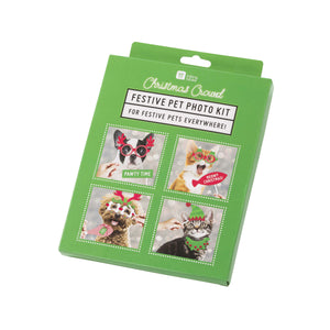 Talking Tables christmas entertainment festive pet photo booth