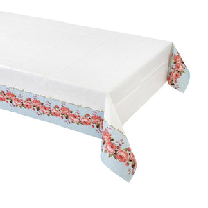 Talking Tables truly chintz paper table cover 180cm x 120cm