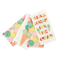 We Heart Ice Cream Double Napkins