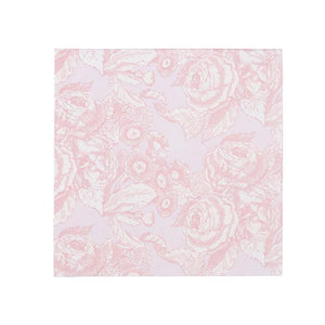 Party Porcelain Rose Cocktail Napkins