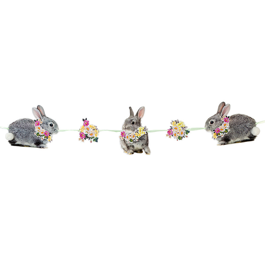 Talking Tables truly bunny bunting 2 5 metres