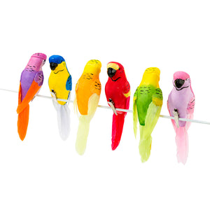 Talking Tables fiesta tropical clip on birds 6pk