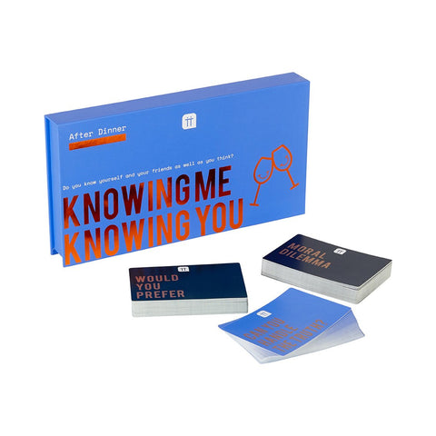 Knowing Me Knowing You Games Compendium