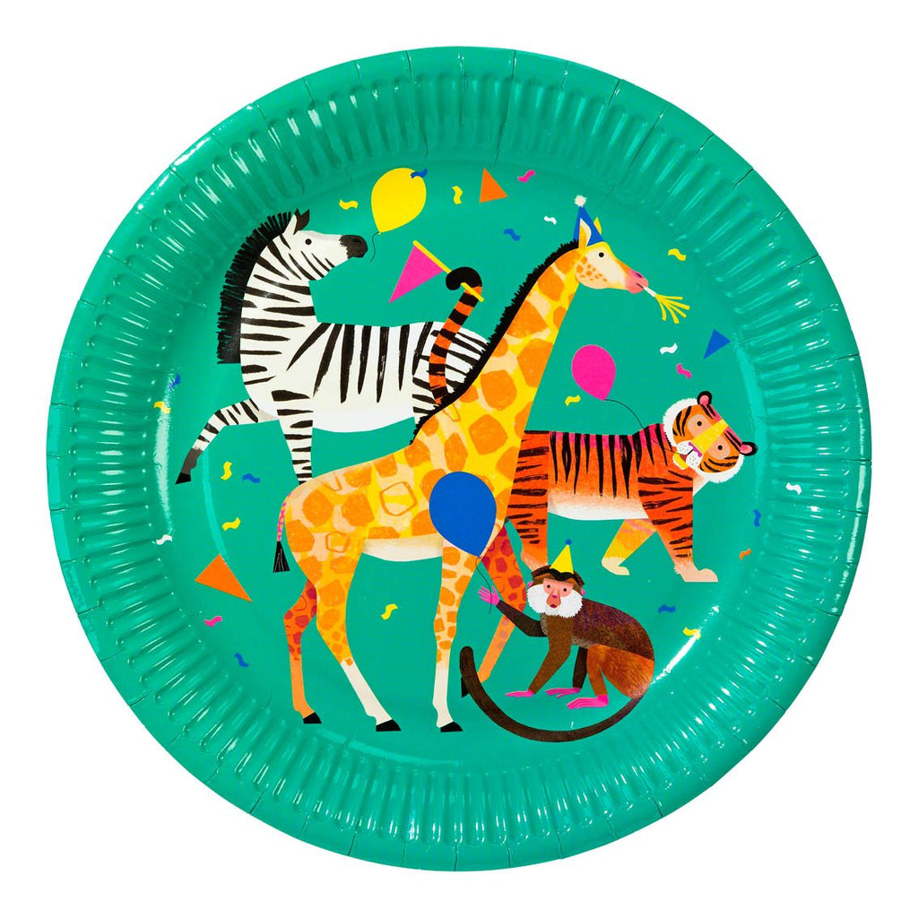 Party Animals Plate - Talking Tables US Public