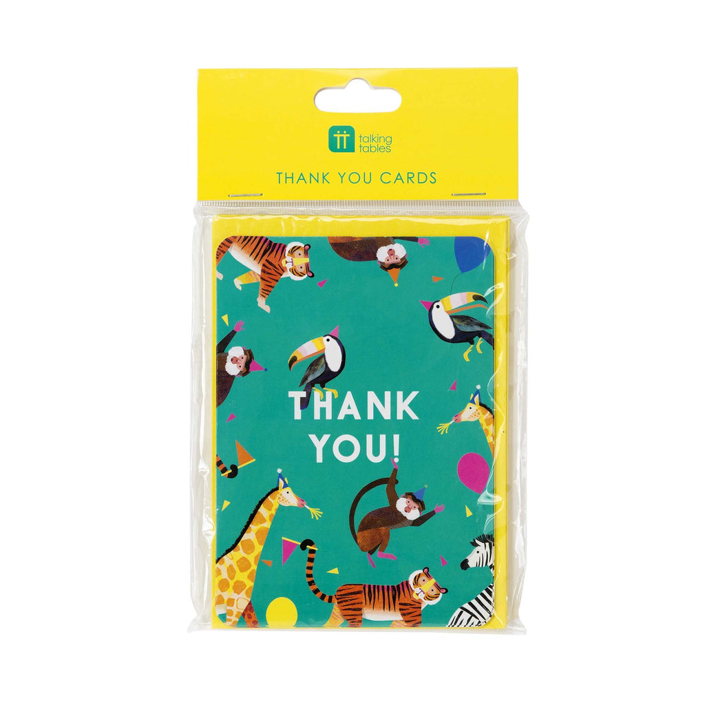 Party Animals Thank You Cards