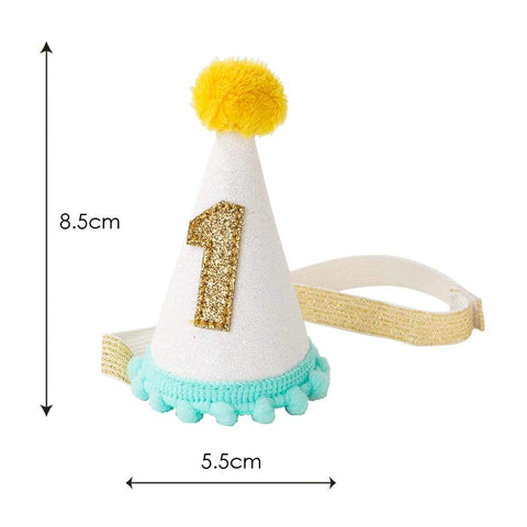 We Heart Birthdays Mini VIP Hat - Talking Tables US Public