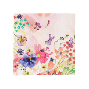 Talking Tables blossom girls cocktail napkins
