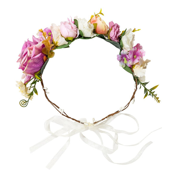 Talking Tables Blosson Girls Floral Crown One Size Fits All Women