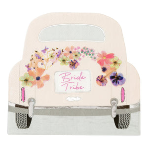 Blossom Girls Car Shaped Napkins