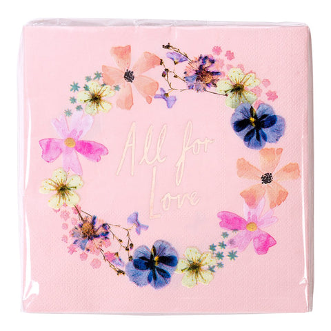 Blossom Girls Napkins - Talking Tables US Public