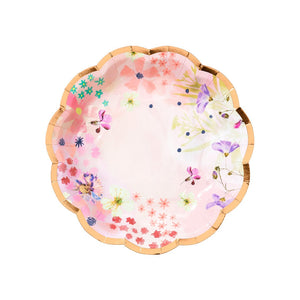 Blossom Girls Small Plates - Talking Tables US Public