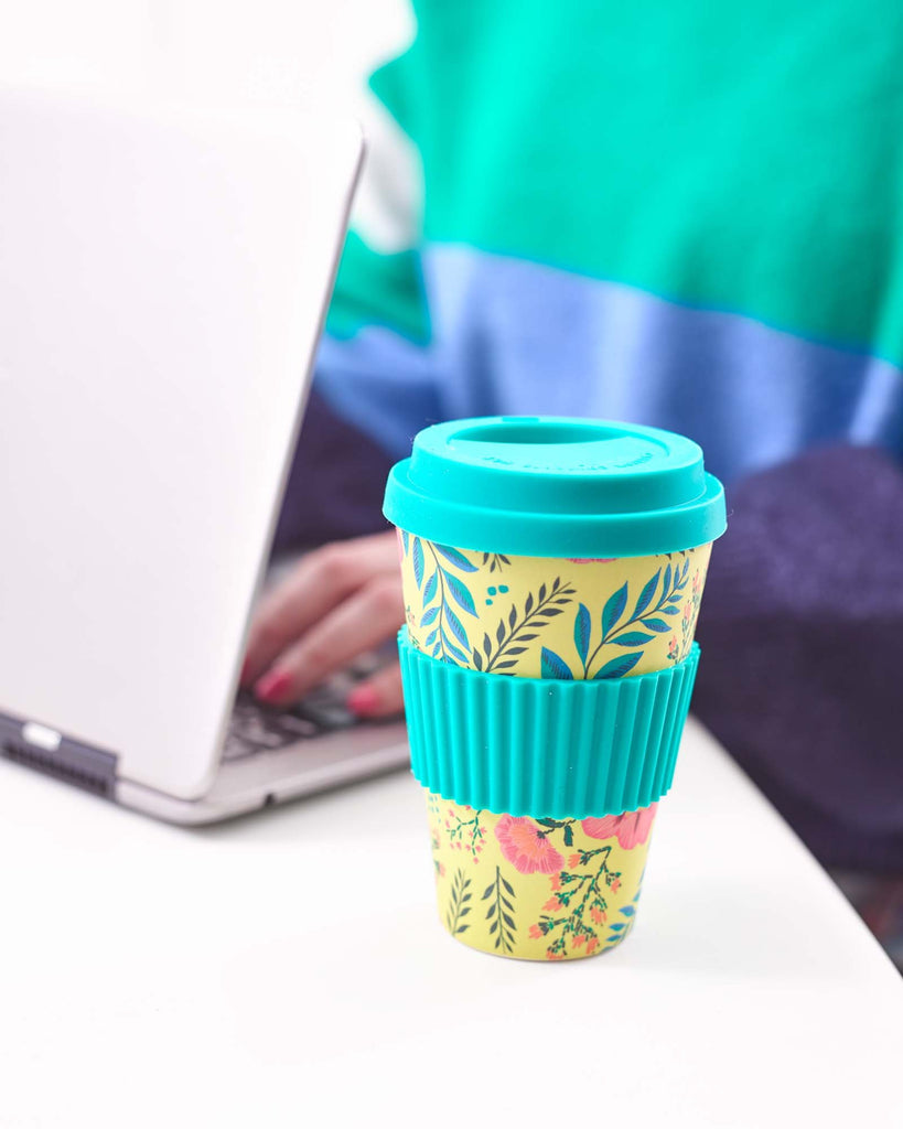 Boho Floral Travel Mug - Talking Tables US Public
