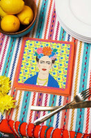 Yellow Frida Kahlo Napkins (Pack of 20) - Talking Tables