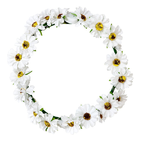 Boho Bride Light Up Flower Crown - Talking Tables US Public