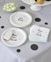 Talking Tables born to be loved plate