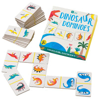 Party Dinosaur Dominoes Game