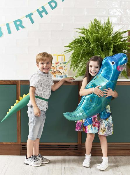 Talking Tables party dinosaur dress up tail