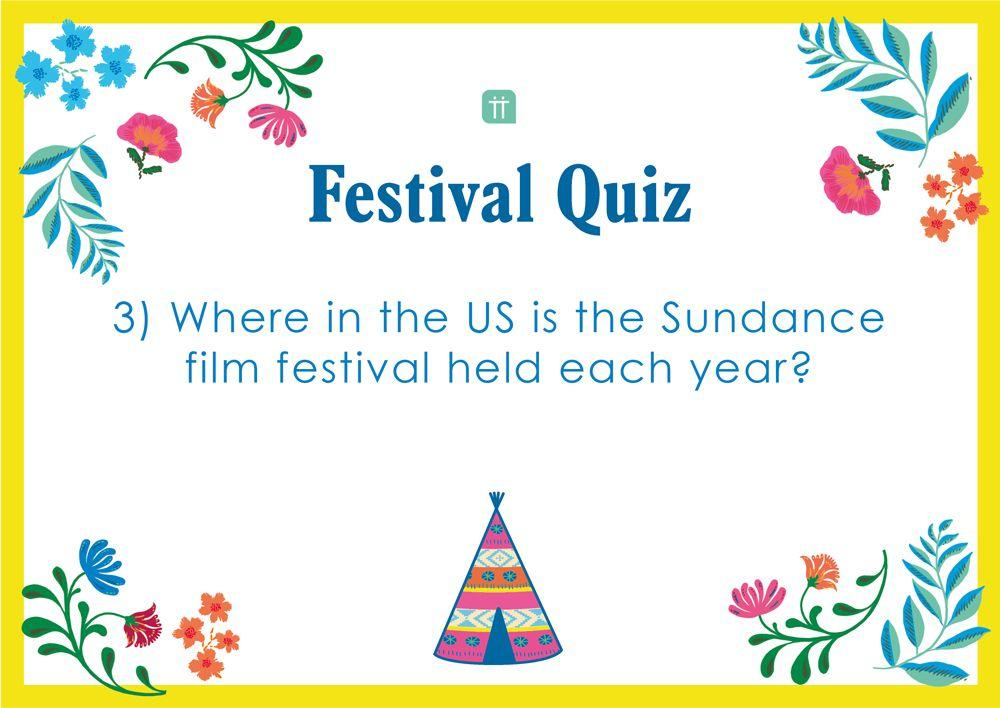 Printable - Festival Quiz - Talking Tables US Public