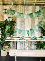 Tropical Fiesta Palm Leaf Paper Cups - Talking Tables US Public
