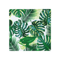 Tropical Fiesta Palm Leaf Cocktail Napkins