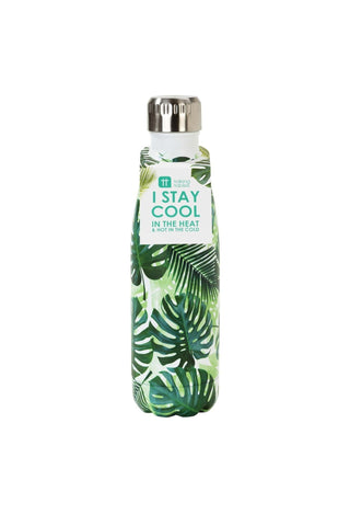 Talking Tables tropical fiesta palm print bottle