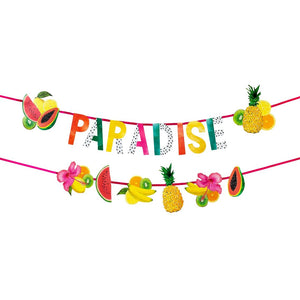 Tropical Fiesta Double Fruit Garland - Talking Tables US Public