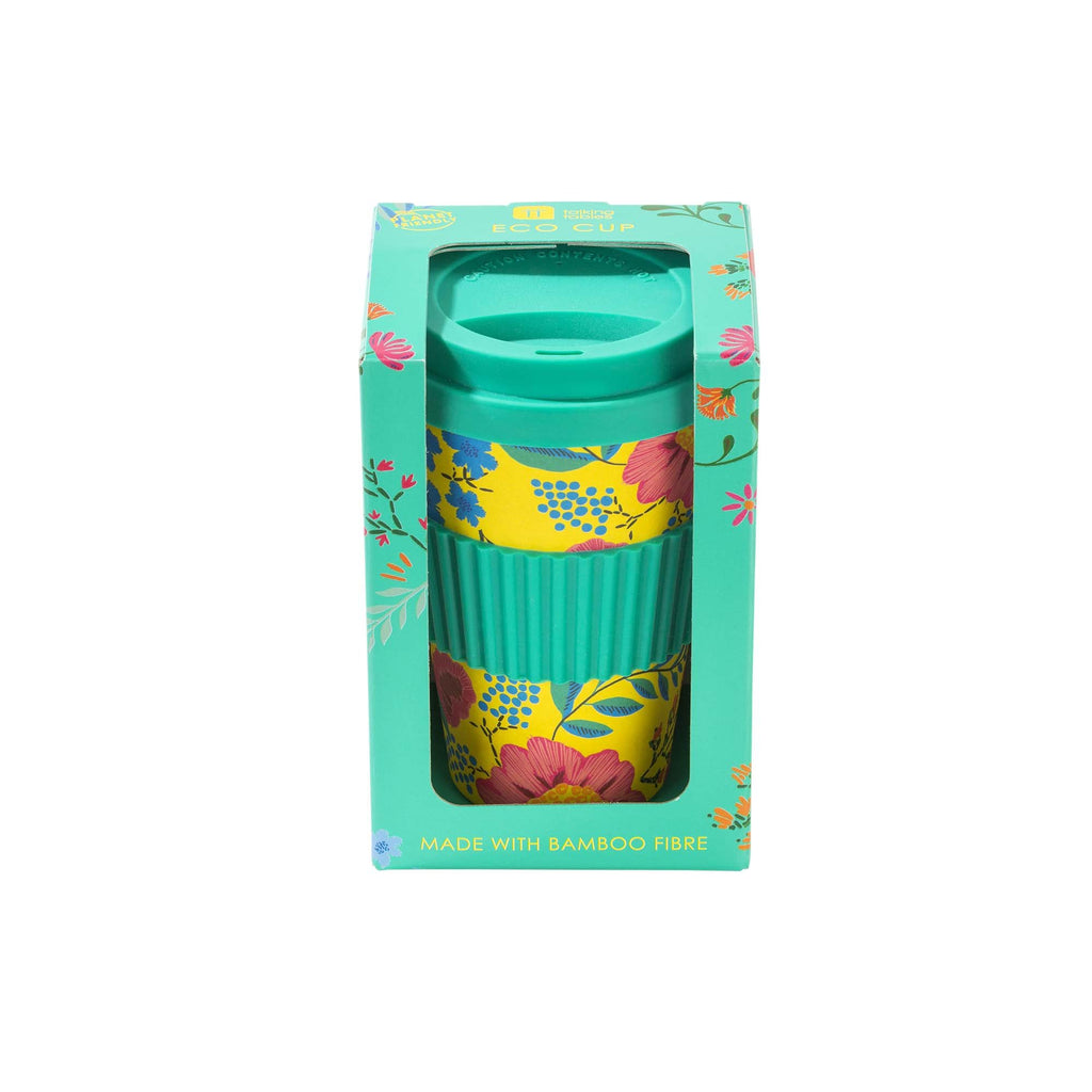 Talking Tables boho floral travel mug
