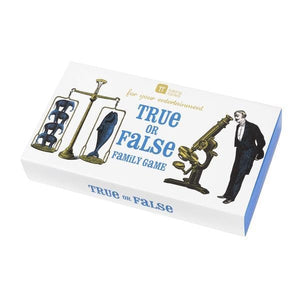Talking Tables high jinks true of false game