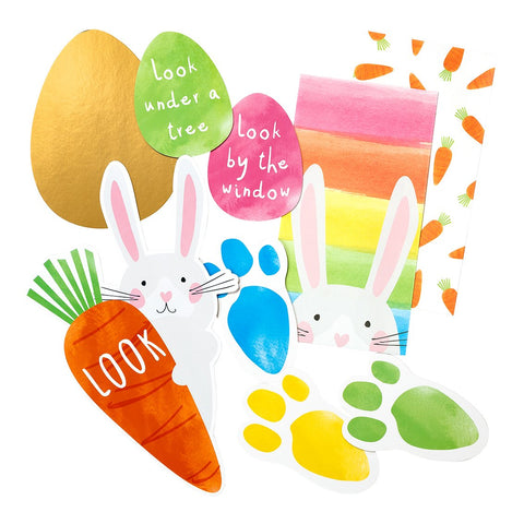 Hop Over The Rainbow Egg Hunt Kit - Talking Tables US Public
