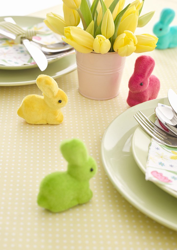Hop Over The Rainbow Mini Bunnies - Talking Tables US Public