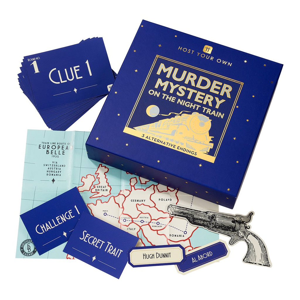 Host Your Own Murder Mystery on the Train - Talking Tables US Public