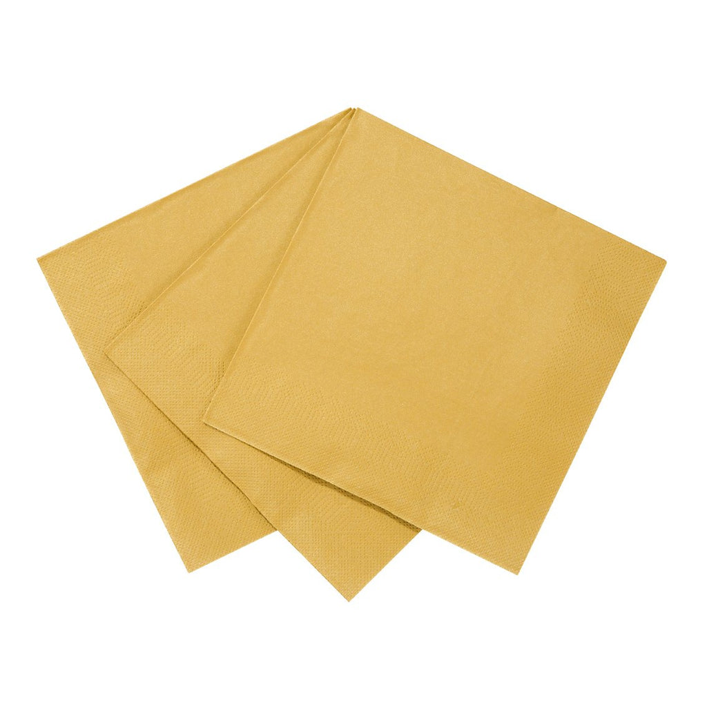 Luxe Gold Napkin - Talking Tables US Public